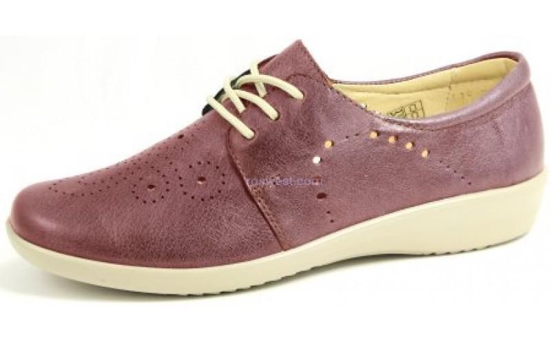 купить летние туфли из натуральной кожи 2028-0