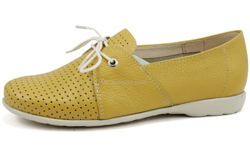 купить летние туфли из натуральной кожи 3282-0